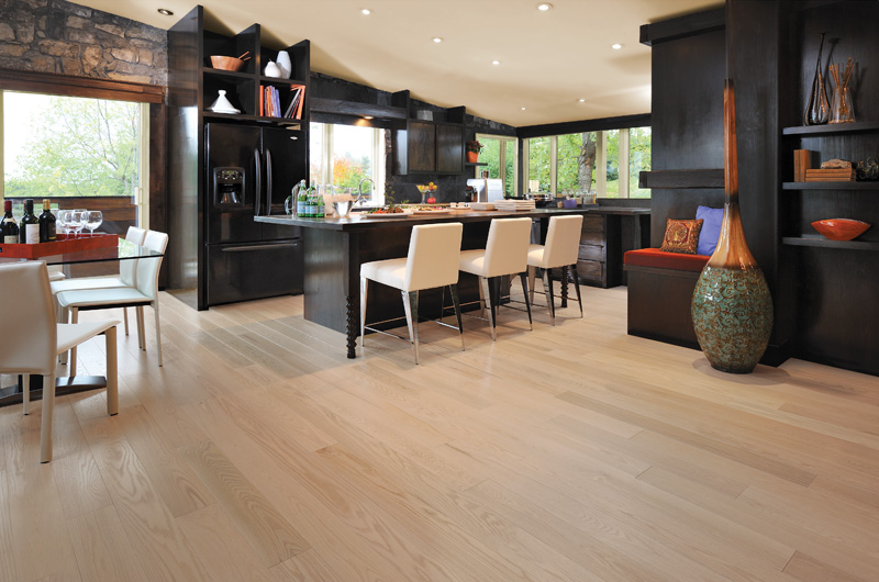 What Kinds of Hardwood Floors Work Best for High Traffic Areas?