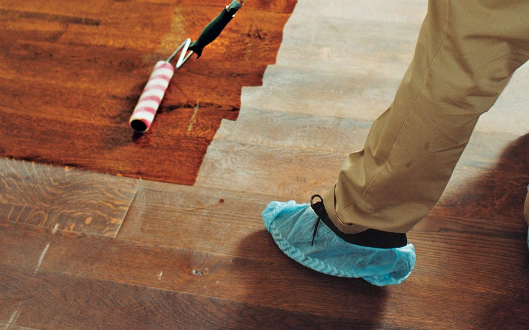 How To Make Your Hardwood Floor Look New Without Sanding